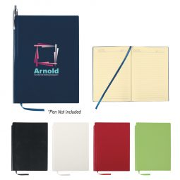 #CM 6445 Soft Cover Journal With Pen Holder