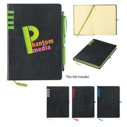 "#CM 6556 - 5"" x 7"" Leatherette Journal"