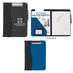 #CM 6635 Microfiber Clip Board With Embossed PVC Trim
