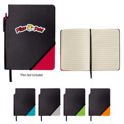 #CM 6912 Triangle Notebook With Pen Holder