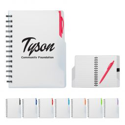 #CM 6937 Mission Spiral Notebook With Pen