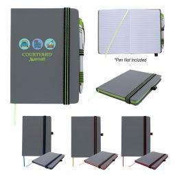 "#CM 6958 - 5"" x 7"" Striped Accent Journal"