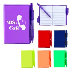 #CM 6972 Jelly Notebook With Pen