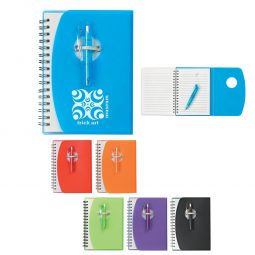 #CM 6976 Spiral Notebook With Shorty Pen