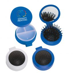 #CM 7117 - 3-In-1 Brush And Pill Case Kit
