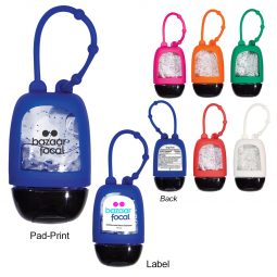 #CM 9018 - 1 Oz. Hand Sanitizer With Colored Moisture Beads