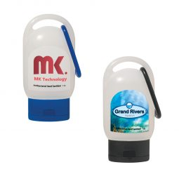 #CM 9057 - 1 Oz. Hand Sanitizer With Carabiner