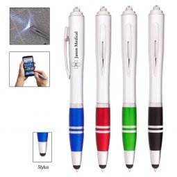 #CM 919 Venus Pen With LED Light And Stylus