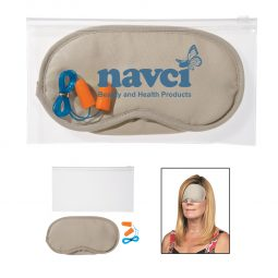#CM 9448 Ear Plugs And Eye Mask Set