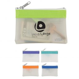 #CM 9481 Zippered Coin Pouch