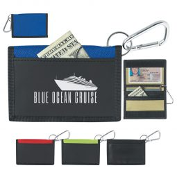 #CM 9482 Wallet With Carabiner