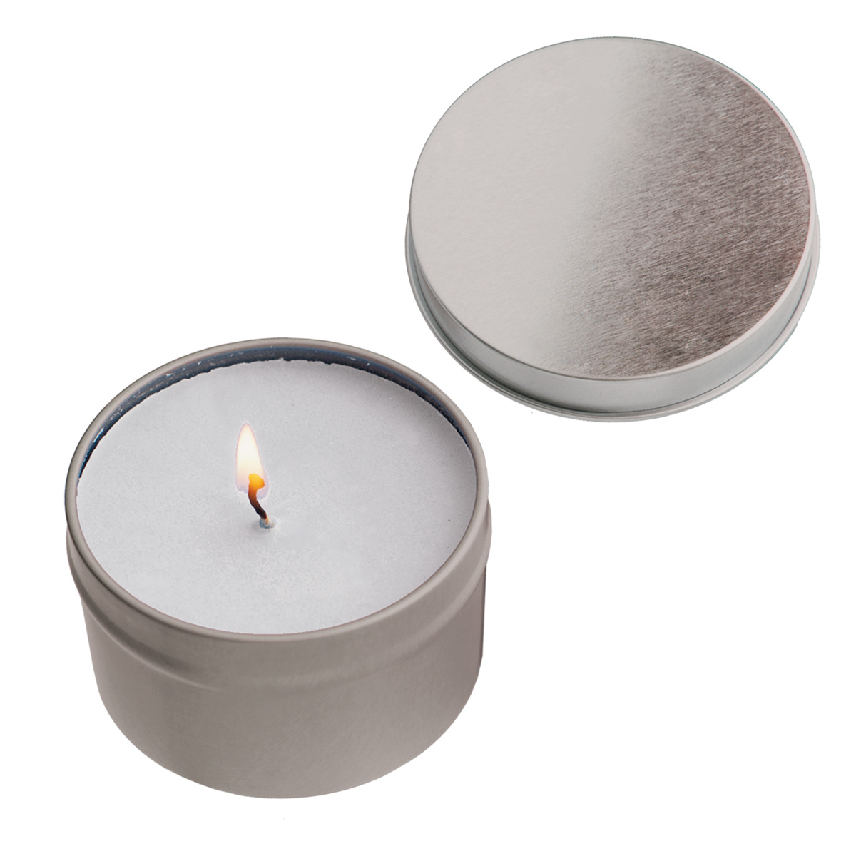 #CM 9610 - 2 Oz. Vanilla Candle Tin