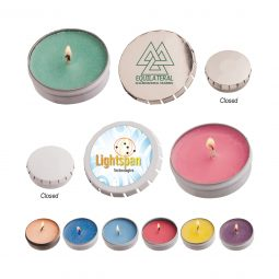 #CM STC03 Snap Top Tin Candle