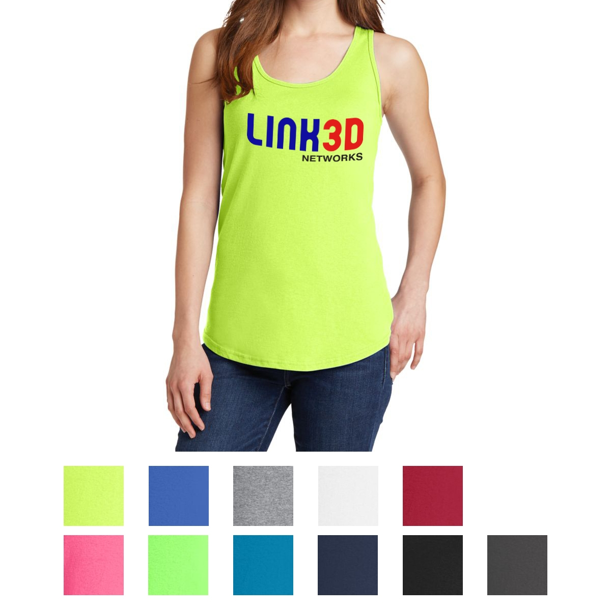 782df88e1ab0f  CM LPC54TT PORT   COMPANY® LADIES CORE COTTON TANK TOP